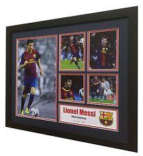 Lionel Messi Signed FC Barcelona Limited Edition Memorabilia