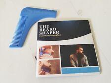 The Beard Bro Beard Shaping Tool. Perfect Shaping. Symmetry.  (Blue)