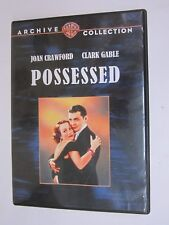 WARNER BROS - ARCHIVE COLLECTION - Possessed (1931) (DVD, 2009) FREE SHIPPING