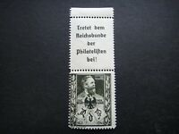 Germany Nazi 1941 Stamp MNH Heinrich v. Chr. Stephan Label German Eagle WWII Thi