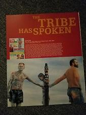 SURVIVOR THE TRIBE HAS SPOKEN SEASON 1 MAGAZINE ADVERTISEMENT PRINT AD