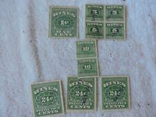 Wine Revenue Stamps 1916-1934
