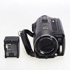 Canon VIXIA HF10 HD 12x Optical Zoom Camcorder AS IS No Power 2573B001