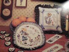 """NEW Stoney Creek Cross Stitch Pattern Booklet """"Small Favors"""" #44 with 32 Designs"""