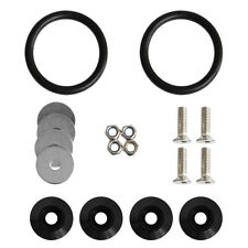 New Black Quick Release Fasteners Kit For Car Bumpers Trunk Fender Hatch Lids