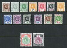 LEEWARD ISLANDS QE II  SCOTT#133/47  MINT NH--SCOTT VALUE $68.00