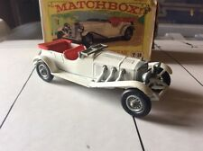 MATCHBOX Models OF YESTERYEAR. y-10 1928 MERCEDES 36/220