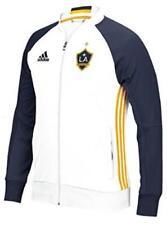 Adidas Los Angeles Galaxy MLS Anthem Men's Sideline Full Zip Jacket