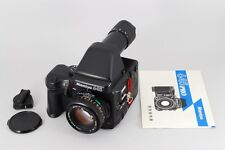 【RARE!! Exc+++++】 Mamiya 645 Pro w/AE Finder, Secor 80mm f2.8 N From Japan #490