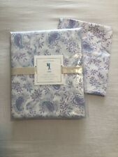 Lara Pottery Barn Kids Twin Duvet And Sham -Purple/Turquoise Paisley Floral