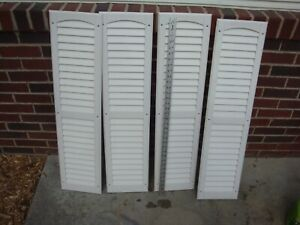 Shutters Vinyl Off White 36 X 9 4 Pieces