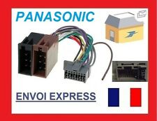 ADAPTATEUR FAISCEAU CABLE ISO AUTORADIO POUR PANASONIC CQ-C1110AN C1475N