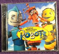 2005 🔥ROBOTS🔥 New & Sealed CD Movie *SOUNDTRACK* Chingy Blue Man Group Gomez