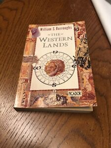 The Western Lands Signed , William S.Burroughs 1st Edition Paperback Picador