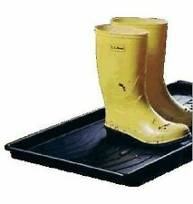 Dial 22304 Large Black Plastic Boot & Utility Tray Dish Racks,