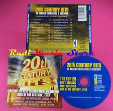 CD 20TH CENTURY HITS Compilation FRANK SINATRA BING CROSBY no mc vhs dvd(C38)
