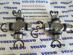 Volvo Penta Driveshaft U-Joint Set SP-A SP-C DP-A DP-C DP-D DP-E RO - SX