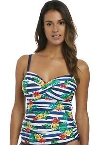 Fantasie Porto Twist Vorne Tankini Top 6674 Bügel Bademode Twilight