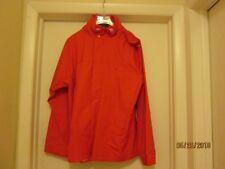 Ralph Lauren Women's Orange Rain Jacket New Size Large