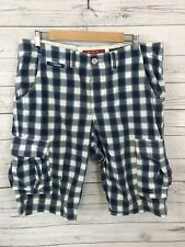 SUPERDRY Chino shorts - Large - Check - Great Condition