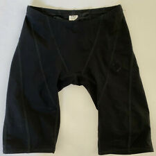 TYR Men's 28 Black AP12 Swim Shorts Racer Jammers Tri Compression USA Made New
