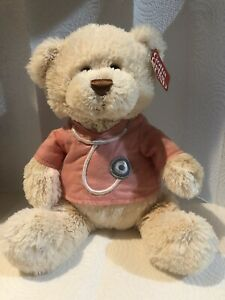 "Gund Nurse/Doctor Teddy Bear 12"" Great condition"