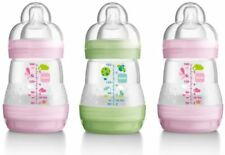 3 Months 260ml/ 9oz. Baby Bottles with Self-Sterilising