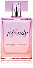 Philosophy Live Joyously Spray Fragrance EDP Eau de Parfum 2 oz/60 ml Sealed box