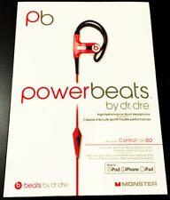 PowerBeats Beats by Dr. Dre High-Performance Sport Headphone ControlTalk Monster