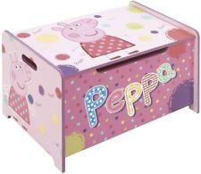 KinderSchreibtisch Peppa Pig Arditex Aufbewahrungsbox klappbar Holz rosa B-WARE