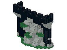 Lego - Bricksy's Castle - H13 - Burgmauer am Felsen