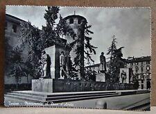 Torino - monumento al duca d'Aosta [grande, b/n, viaggiata]