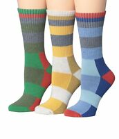 Ronnox Unisex Comfortable Hiking & Outdoor Crew Socks, Seamless Toe,