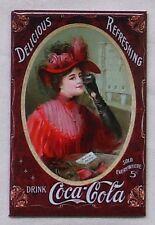 USA Coca Cola Kühlschrank Magnet Vintage Victorian Magnetschild