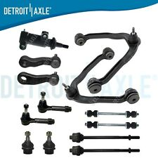 Front Upper Control Arms Ball Joint Tie Rod Chevy Tahoe 4x4 Control Arms 13pc