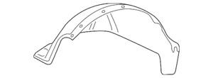 Genuine Fender Liner 15095669