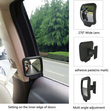 Car Interior Blind Spot Wide-Angle Adjustable Convex Rearview Mirror Efficient