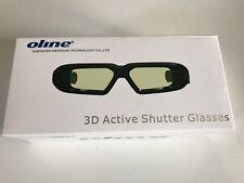Universal 3D Active Shutter TV Glasses - Sony/Panasonic/Samsung 3DTV/ Projector