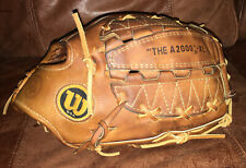 Wilson A2000 XL Baseball Softball Glove  Made In USA