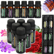 ESSENTIAL OILS SET Of 6 100% Pure Aromatherapy kit 10mL Bottles Gift Box  PQ