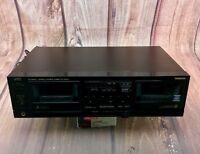 Vintage Stereo Equiptment JVC TD-W444 Stereo Double Cassette Deck Rare 80's WOW
