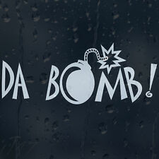 Funny Da Bomb Grenade Car Decal Vinyl Sticker