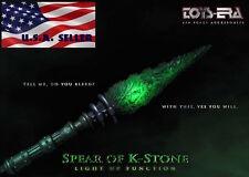 """IN STOCK 1/6 Green Kryptonite Spear LED Light Up For 12"""" Hot Toys Phicen Batman"""