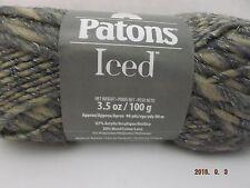 Patons Iced Yarn ~ Wool Blend ~ Limestone ~ #6 Super Bulky ~ 3.5 oz ~ 98 yd