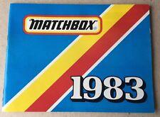 MATCHBOX TOYS POCKET CATALOGUE 1983 - uncirculated (original)
