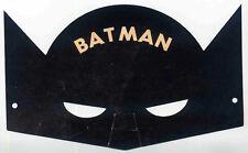 BATMAN REPRO 1943 BATMAN MASK PHILADELPHIA RECORD NEWSPAPER PROMO . DC COMICS