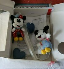 New listing Rare Vintage Disney Mickey Mouse Baby Crib Toy Musical Mobile & Box Manual Look
