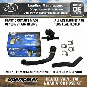 Heater Tap & Hose Kit for Holden Adventra Calais Crewman One Tonner Commodore VZ