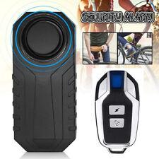 Motorrad Fahrrad Roller Vibrations Alarmanlage Alarm Sirene mit Fernbedienung