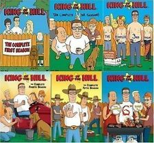 King of the Hill TV Series Complete Season 1-6 (1 2 3 4 5 6) NEW 19-DISC DVD SET